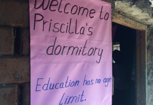 Welcome to Priscilla's dormitory