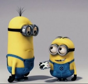 Minions asking question
