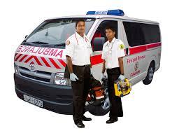 Ambulance & crew
