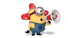 Minion and loudhailer