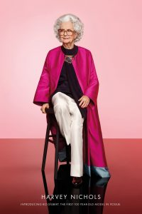 100 year old to be photographed for Vogue