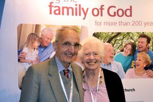 Volunteers Ken and Elizabeth Lockwood
