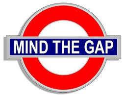 Turning cartwheels as we mind the gap!