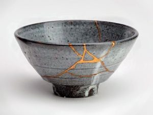 Everyone is a little cracked – but God's repairs make beautiful